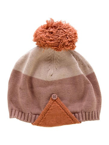 Stella McCartney Boys' Colorblock Pom-Pom Beanie w/ Tags None