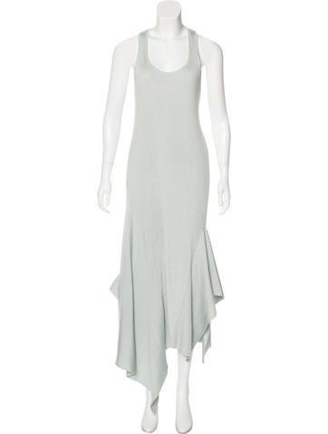 Stella McCartney Rib Knit Maxi Dress None