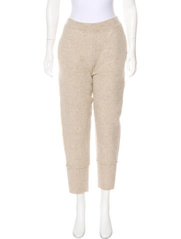 Stella McCartney High-Rise Knit Pants None