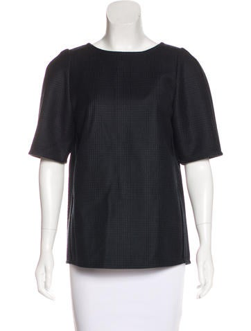 Stella McCartney Wool Structured Top None