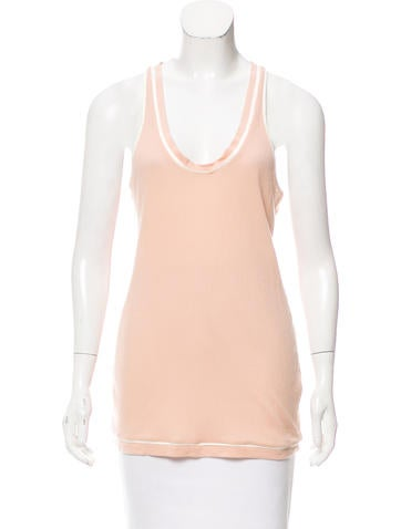 Stella McCartney Rib Knit Racerback Top w/ Tags None