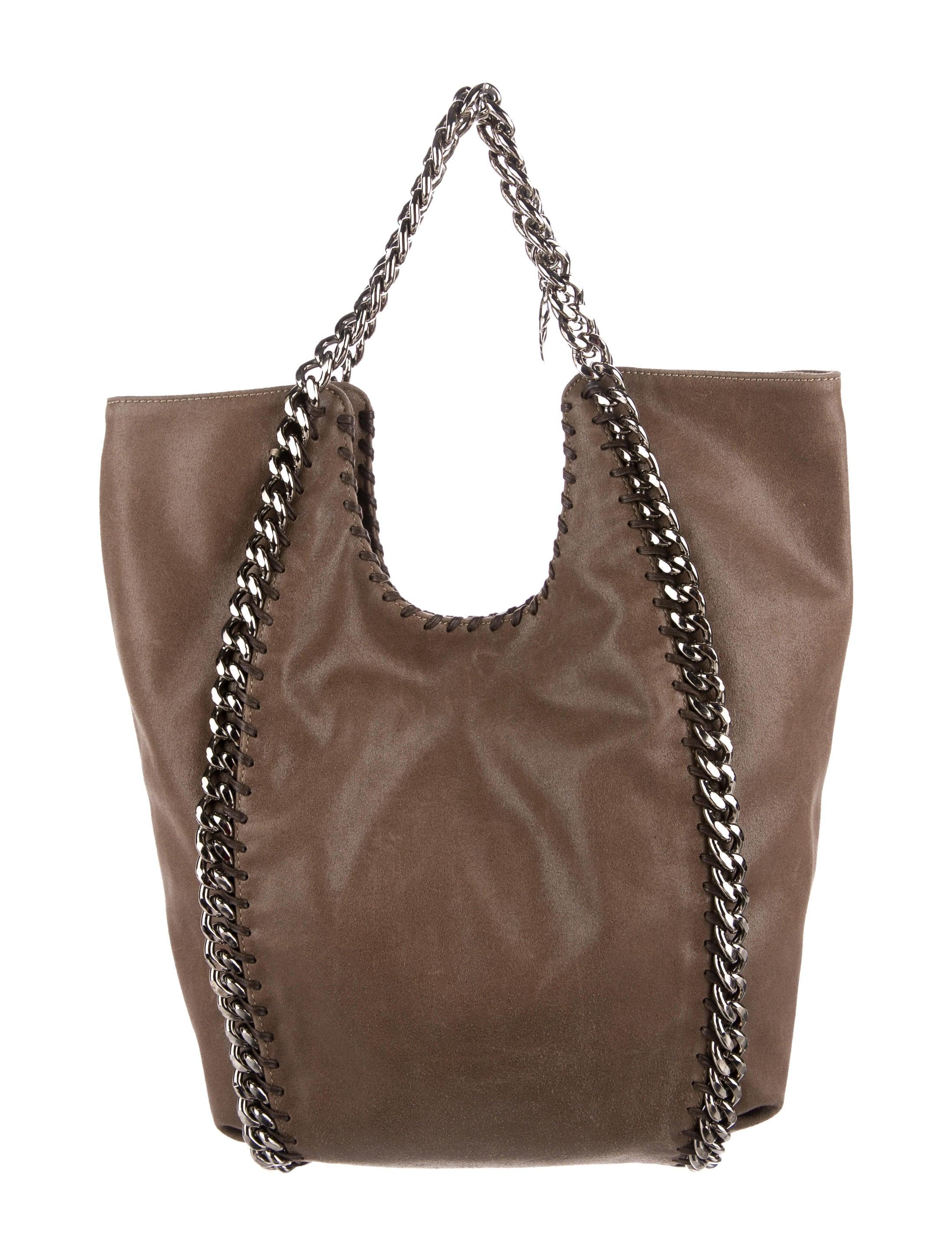stella mccartney falabella chain tote handbags stl56918 the realreal. Black Bedroom Furniture Sets. Home Design Ideas