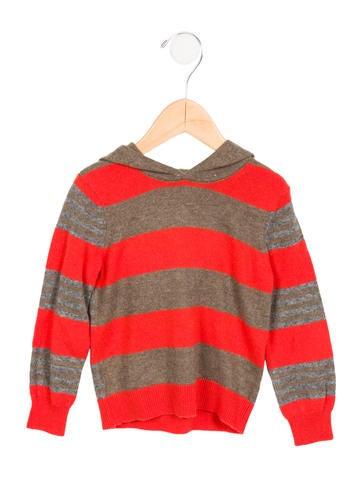 Stella McCartney Boys' Wool Hooded Sweater None