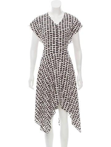 Stella McCartney Printed Silk Dress None