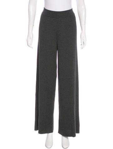 Stella McCartney 2015 Wool High-Rise Pants w/ Tags None