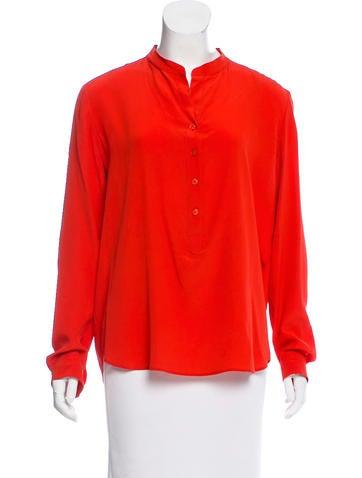 Stella McCartney Silk Oversize Top None