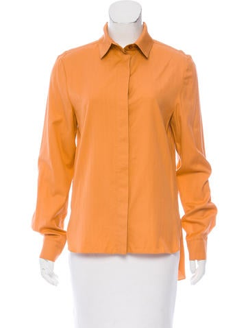 Stella McCartney High-Low Button-Up w/ Tags None