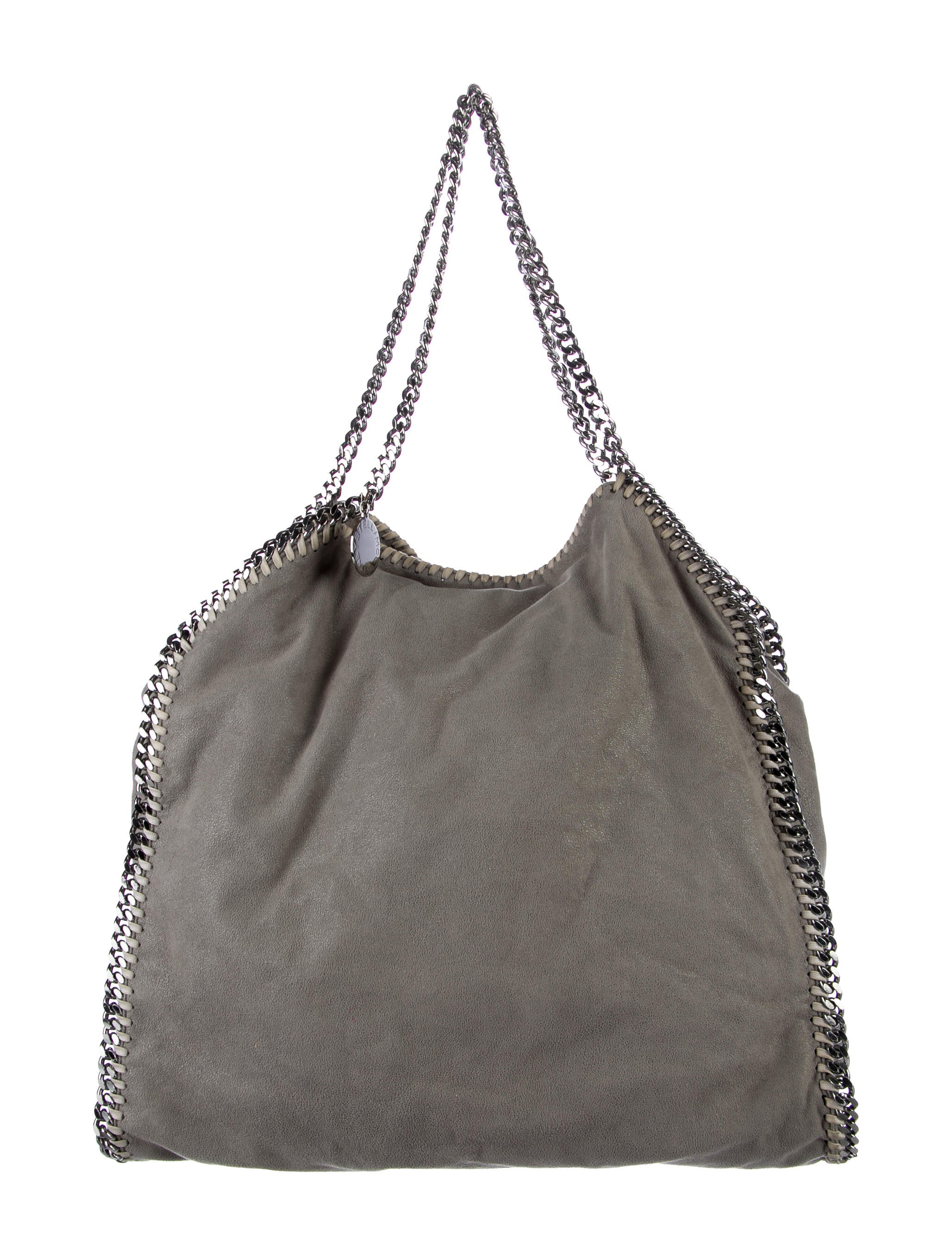 stella mccartney shaggy deer falabella large tote handbags stl57853 the realreal. Black Bedroom Furniture Sets. Home Design Ideas