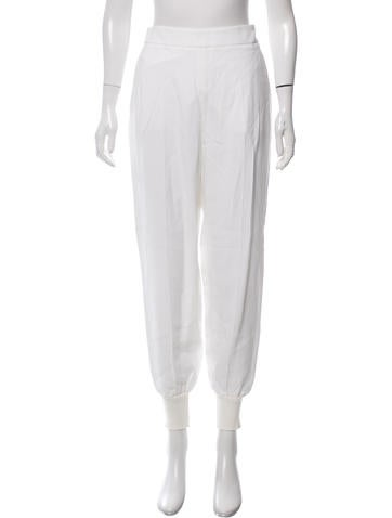 Stella McCartney High-Rise Crepe Pants w/ Tags None