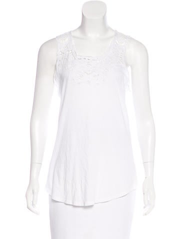 Stella McCartney Embellished Sleeveless Top w/ Tags None