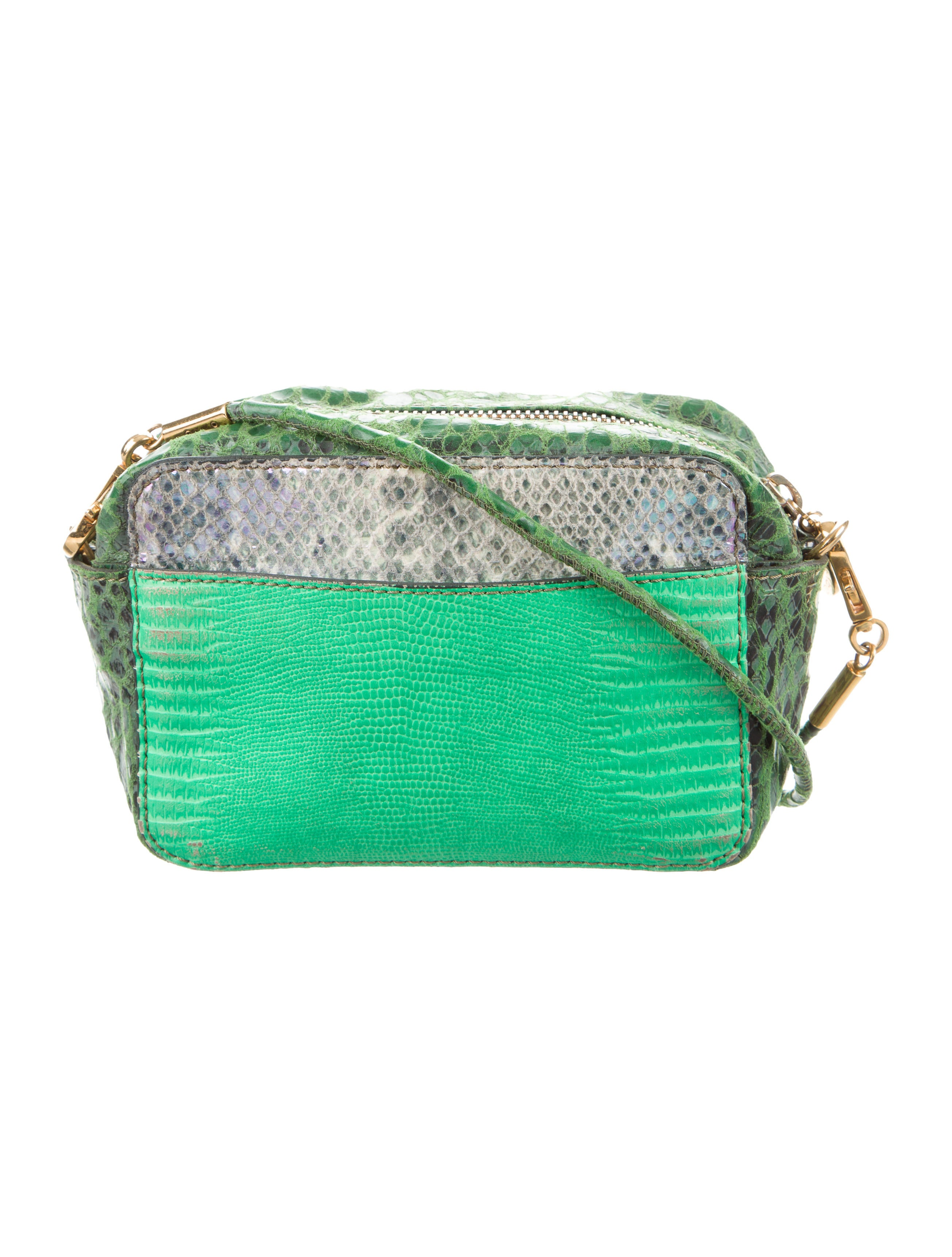 stella mccartney embossed crossbody bag handbags