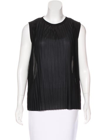Stella McCartney Sleeveless Pleated Top w/ Tags None