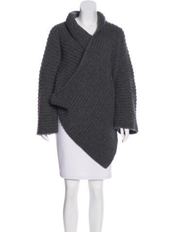 Stella McCartney Wool Oversize Cardigan None