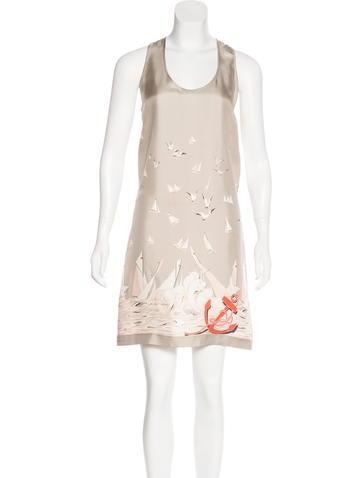 Stella McCartney Silk Printed Dress None