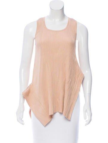 Stella McCartney Asymmetrical Knit Top None