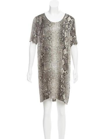 Stella McCartney Silk Print Dress w/ Tags None