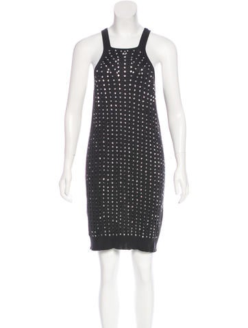 Stella McCartney Knit Mini Dress None