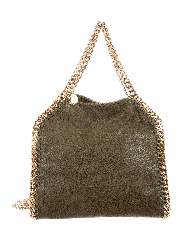 stella mccartney falabella shaggy deer mini tote handbags stl59465 the realreal. Black Bedroom Furniture Sets. Home Design Ideas