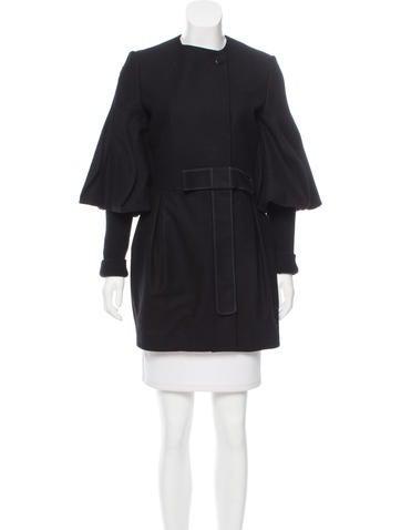 Stella McCartney Wool Collarless Jacket None