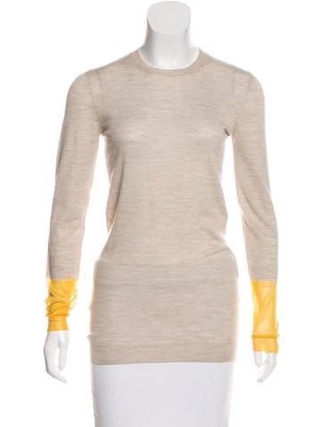 Stella McCartney Lightweight Wool Sweater None