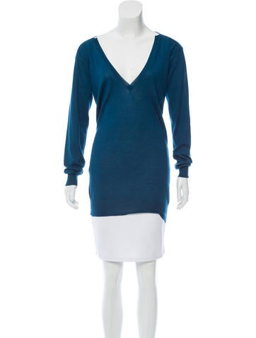 Stella McCartney Lightweight V-Neck Sweater None