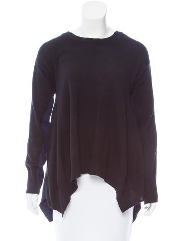 Stella McCartney Wool Draped Sweater None