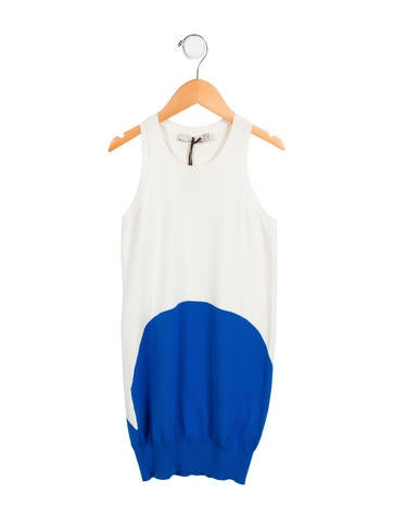 Stella McCartney Girls' Two-Tone Knit Dress None