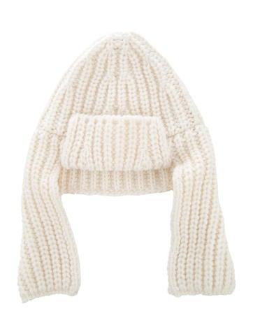 Stella McCartney Wool Knit Beanie None