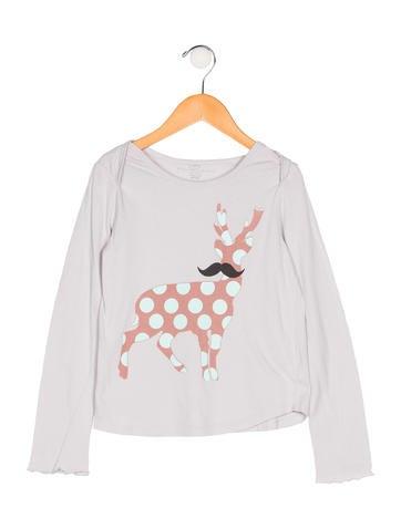 Stella McCartney Girls' Printed Knit Top None