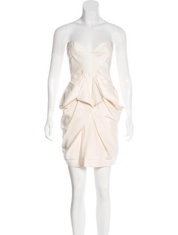 Stella McCartney Silk Draped Mini Dress w/ Tags None