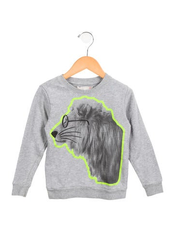Stella McCartney Kids' Printed Crew Neck Sweatshirt None