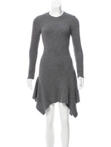 Stella McCartney Knee-Length Wool Dress None