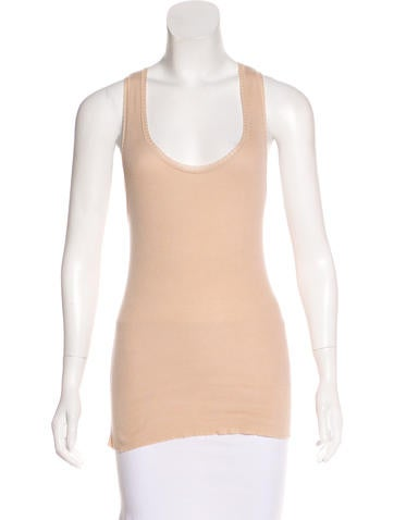 Stella McCartney Sleeveless Knit Top None