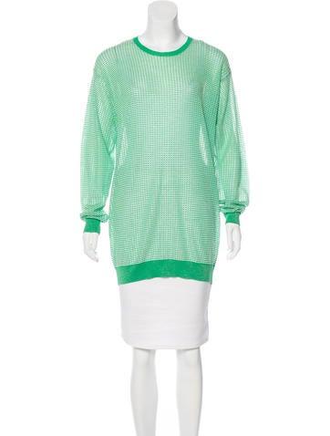 Stella McCartney Metallic-Accented Knit Sweater None