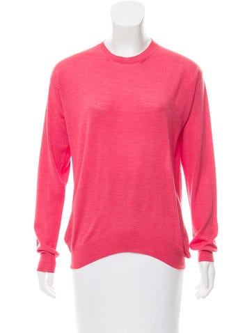 Stella McCartney High-Low Wool Sweater None