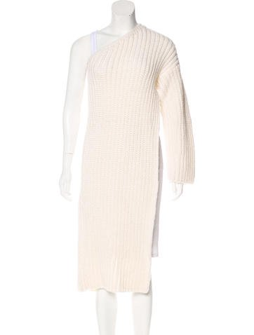 Stella McCartney 2015 Virgin Wool Asymmetrical Sweater w/ Tags None