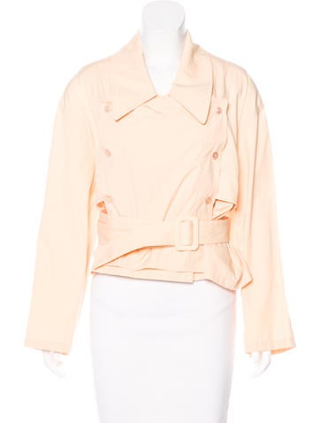 Stella McCartney Structured Button-Up Jacket w/ Tags None