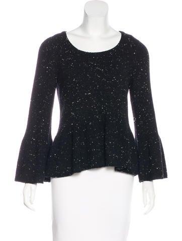 Stella McCartney Wool Peplum Sweater None