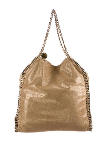 Stella McCartney Falabella Shaggy Deer Large Tote None