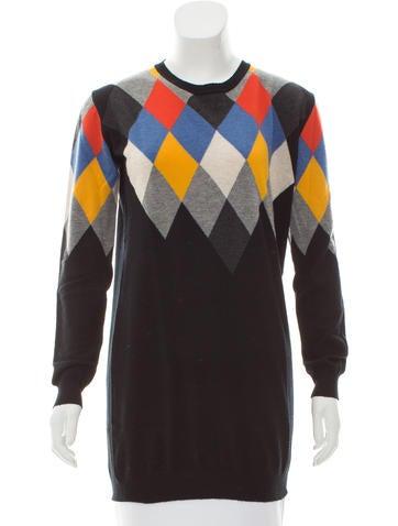 Stella McCartney Wool Intarsia Sweater None
