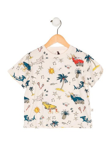 Stella McCartney Boys' Printed Knit Shirt w/ Tags None