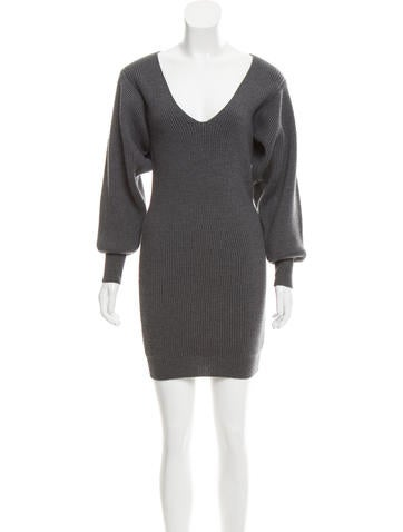 Stella McCartney Wool Sweater Dress None