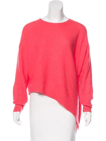 Stella McCartney Cashmere Knit Asymmetrical Sweater None