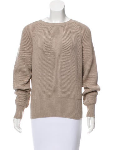 Stella McCartney Ribbed Wool Sweater None