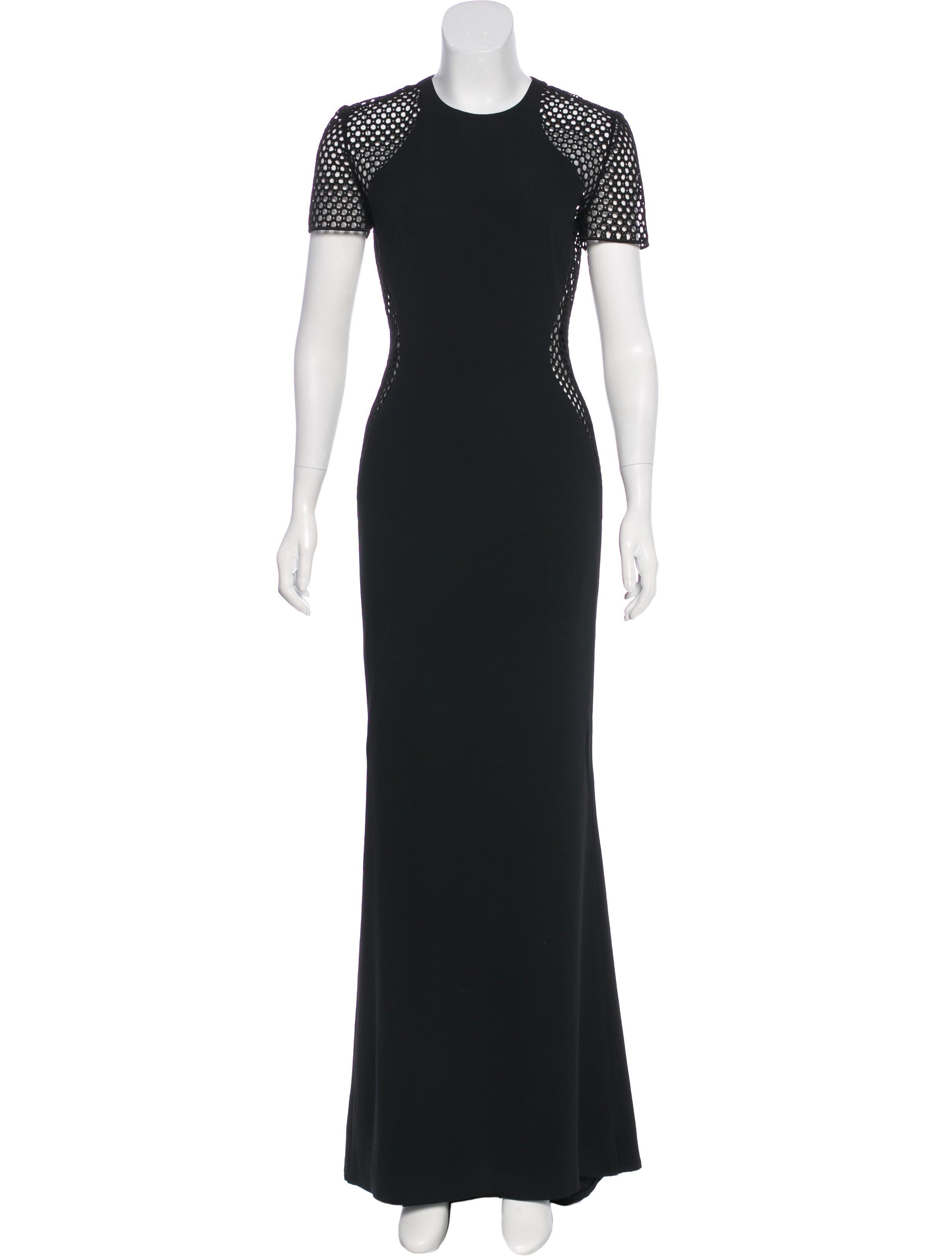 Stella McCartney Eyelet Evening Dress - Clothing - STL61753 | The ...