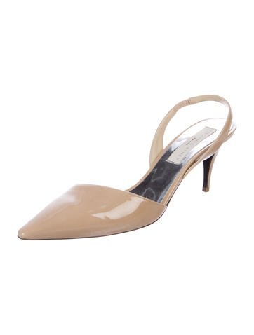 Stella McCartney Pointed-Toe Slingback Pumps for sale footlocker discount footlocker cheap extremely fake online sale countdown package qFuCLwe9