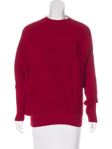 Stella McCartney Rib Knit Wool Sweater None