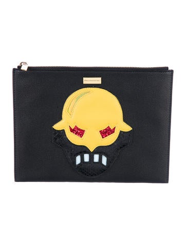 Stella McCartney Super Hero Clutch None