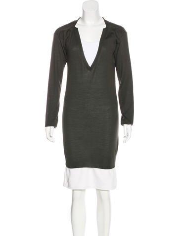 Stella McCartney Knit Long Sleeve Sweaer None