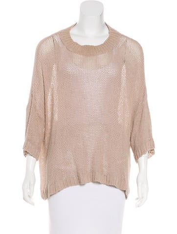 Stella McCartney Silk-Blend Sweater None